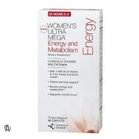 WOMENS ULTRA MEGA ENERGY  METABOLI 90 caps