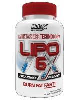 Nutrex Lipo 6X - 120 caps