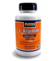 L-Аргинин (L - Arginine) 500 мг, 100 капс NOW